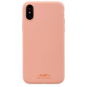 Holdit Mobilskal Silikon iPhone X/XS Pink Peach