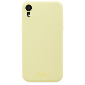 Holdit Mobilskal Silikon iPhone XR Lemonade