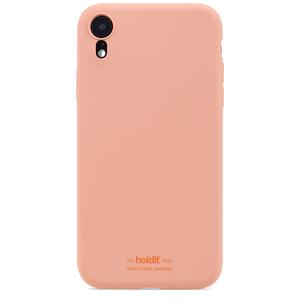 Holdit Mobilskal Silikon iPhone XR Pink Peach