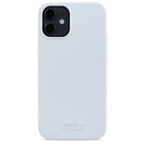 Holdit Mobilskal Silikon iPhone 12 Mini Mineral Blue