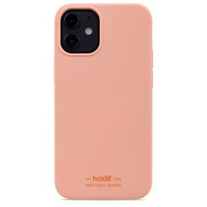Holdit Mobilskal Silikon iPhone 12 Mini Pink Peach