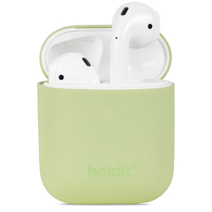 Holdit Silicone Case AirPods Nygård Kiwi