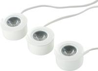 LED-spot kit 1.5Wx3st