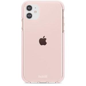 Holdit Seethru Case iPhone 11/XR Blush Pink