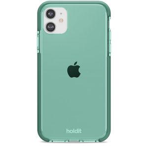 Holdit Seethru Case iPhone 11/XR Moss Green
