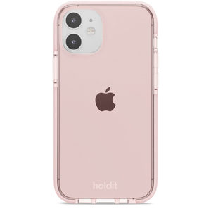 Holdit Seethru Case iPhone 12 Mini Blush Pink