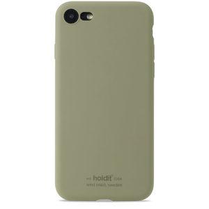 Holdit Silicone Case iPhone 7/8/SE Khaki Green