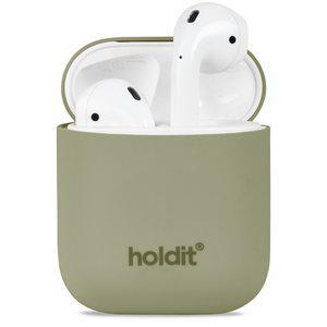 Holdit Silicone Case AirPods 1&2 Nygård Khaki Green