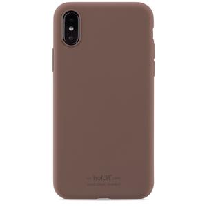 Holdit Silicone Case iPhone X/Xs Dark Brown