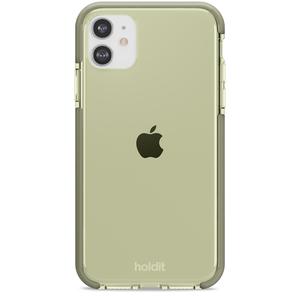 Holdit Seethru Case iPhone 11/XR Khaki Green
