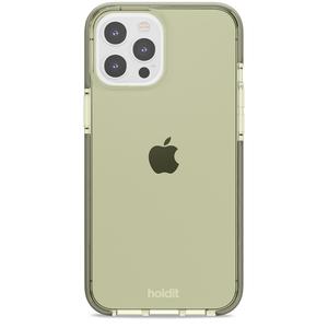 Holdit Seethru Case iPhone 12/12 Pro Max Khaki Green