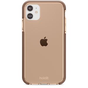 Holdit Seethru Case iPhone 11/XR Dark Brown