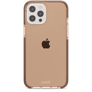 Holdit Seethru Case iPhone 12/12 Pro Max Dark Brown