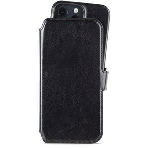 Holdit Wallet Case Magnet iPhone 2021 13 Pro Berlin Dark Black