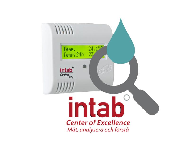 Kalibrering Comfortlog av fukt och temp i rumstemperatur