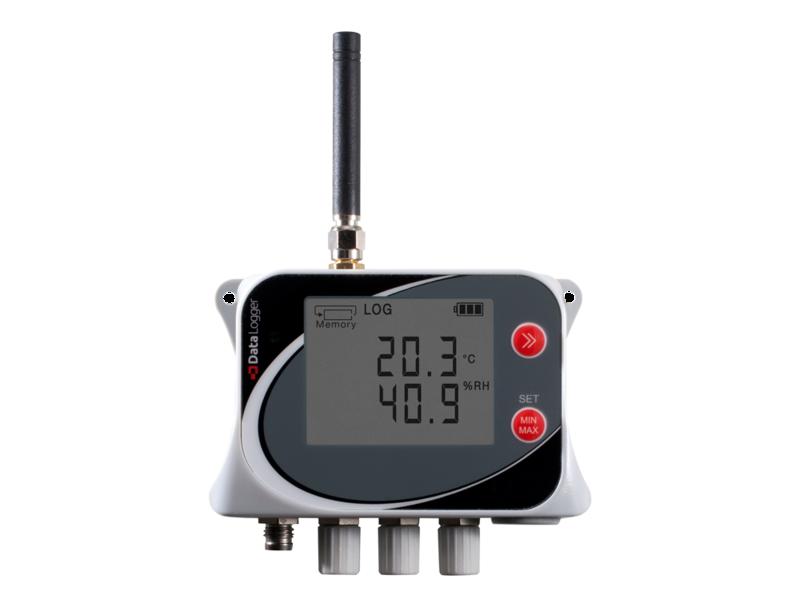 GSM-logger 4 extern temp