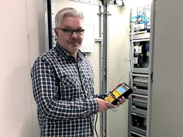 Seth Bengtsson använder bland annat Energy Logger från Intab.