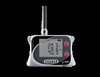 GSM-logger, temp, RH, koldioxid och tryck