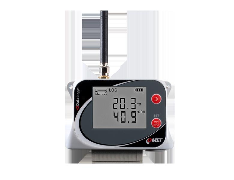 GSM-logger digital samt 2 extern temp
