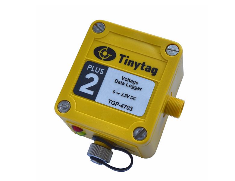 Tinytag Plus 2 spänning
