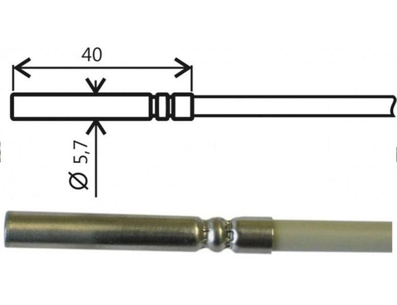 PT1000-givare, -30 till +80°C