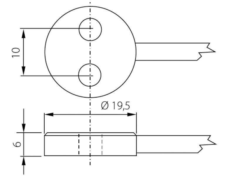 PT1000-givare, flera längder, -50 till +200°C
