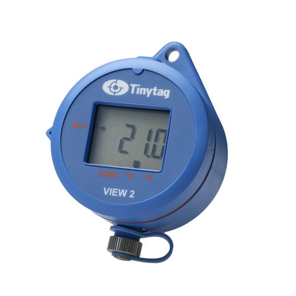 Tinytag View 2 temperatur och relativ luftfuktighet