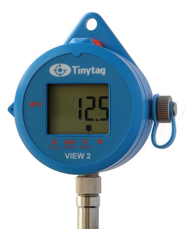 Tinytag View 2 Instrument spänning 0-25V