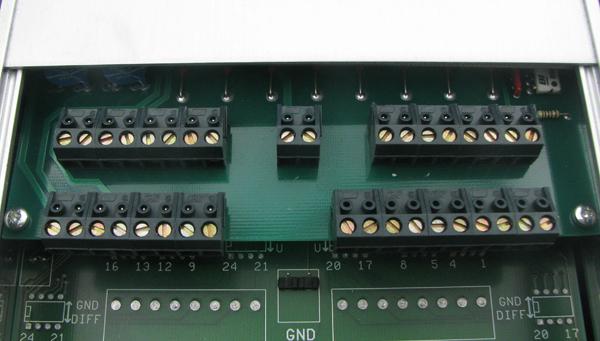 Digital inputs/outputs