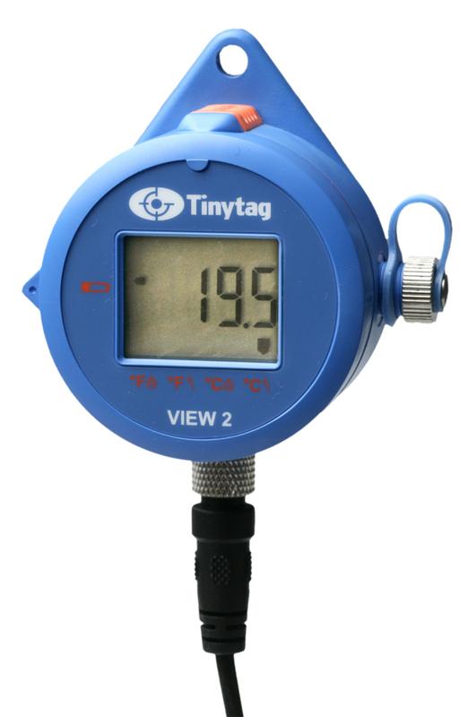 Tinytag View2 extern och intern temperatur