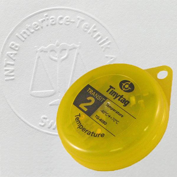 Livsmedelslogger för temperatur, Tinytag (med kalibreringscertifikat)