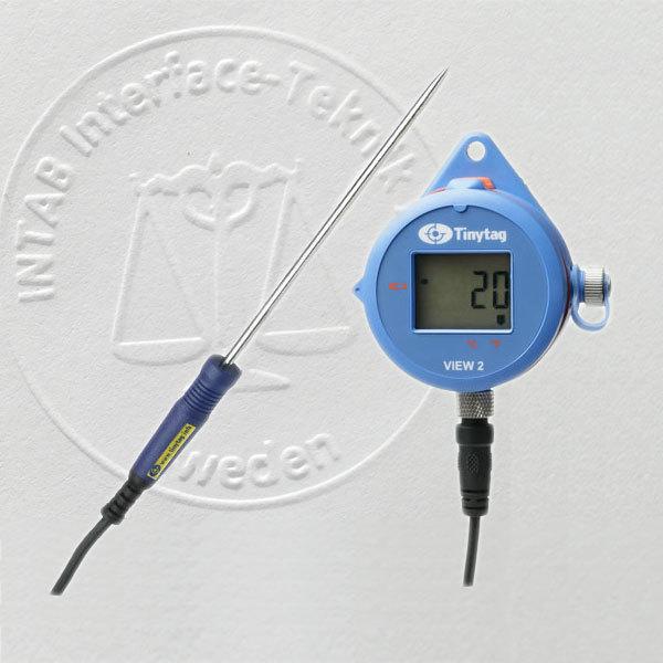 Livsmedelslogger extern temperatur, Tinytag (med kalibreringscertifikat)
