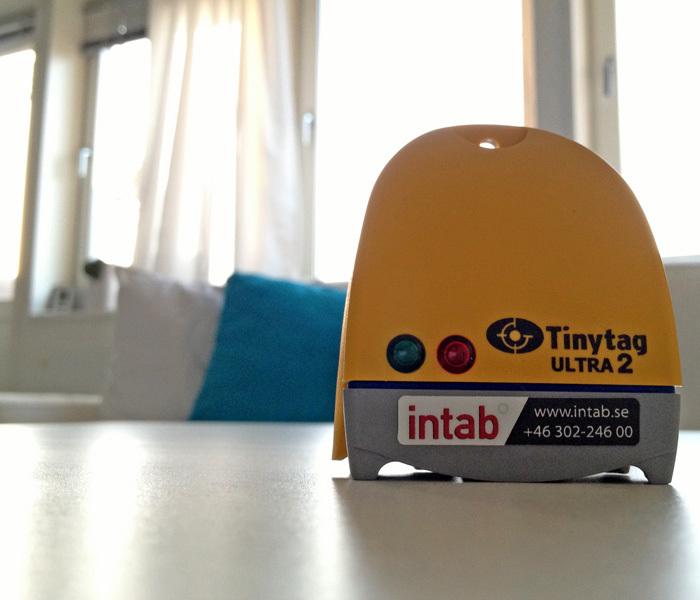 Tinytag Ultra 2 för intern temperatur och relativ luftfuktighet