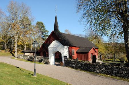 Intab Wireless System i Tunabergs Kyrka   Bildkälla: http://commons.wikimedia.org/wiki/File:Tunabergs_kyrka_Nyk%C3%B6pings_kommun.jpg?uselang=sv