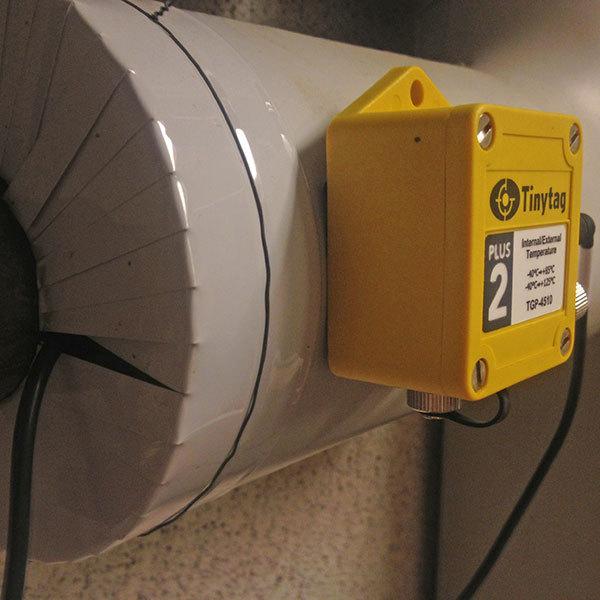 Tinytag Plus 2 intern och extern temperatur