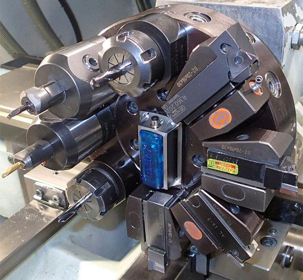 Vibrationsmätning på maskin