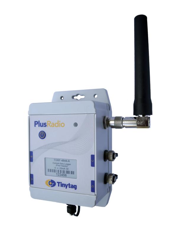 Tinytag Plus Radio fyra strömingångar (0-20mA)