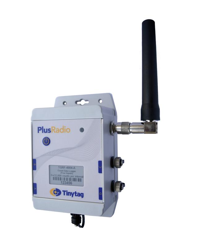 Tinytag Plus Radio puls, fyra ingångar