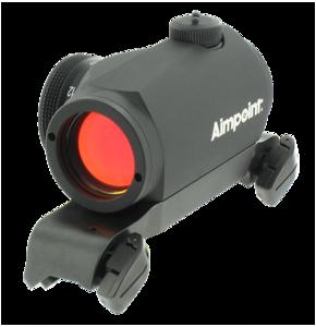 Aimpoint Micro H1 (2 MOA) - Blazer original sadelmontage