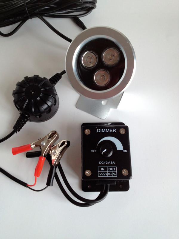 Åtelbelysning. 3W Led Dimbar Gyttorp