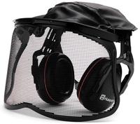 Hörselskydd med nätvisir