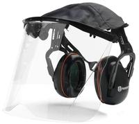 Hörselskydd med plexivisir