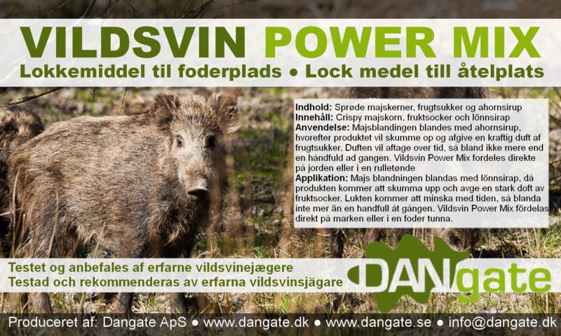 Vildsvin Power Mix