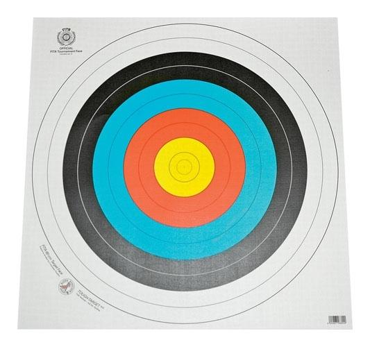 Måltavlor Tapet 40 cm 10-Pack