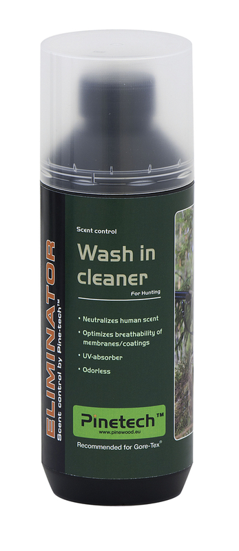 Wash in Cleaner Eliminator Tvättmedel/Doftkontroll, Pinetech