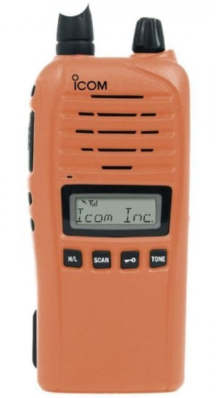 ICOM ProHunt Advanced BTi Bluetooth Jaktradio - Orange