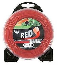 Trimmertråd 15 m, 1.6 mm Red, Oregon