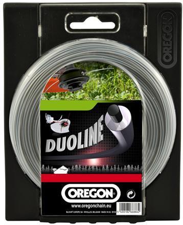 Trimmertråd 15 m 2.4 mm Duoline, Oregon