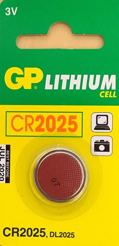 GP CR2025 3V