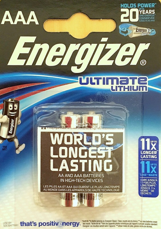 Energizer AAA Ultimate 1.5V 2-pack
